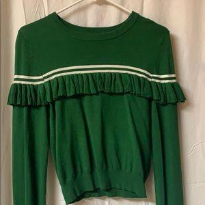 Fun green sweater